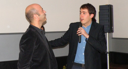 Jo mateix i el Tomàs Molina (el calb, eh?)