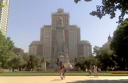 Plaza España de Madrid