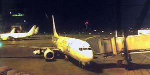 Boeing 737 de tornada a Barcelona