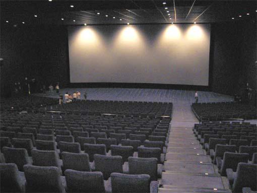 Sala 25 dels multicinemes Kinepolis de Madrid. ''25 en 4''.