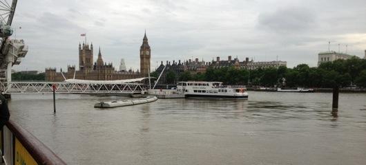 A prop de casa, a Londres