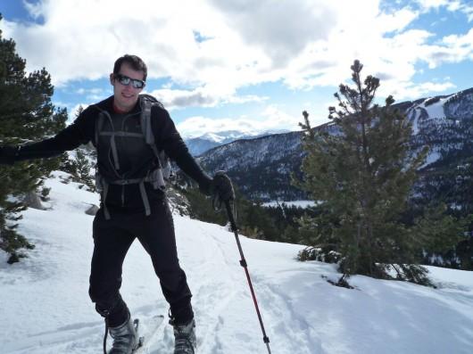 L'esquí de muntanya és difícil