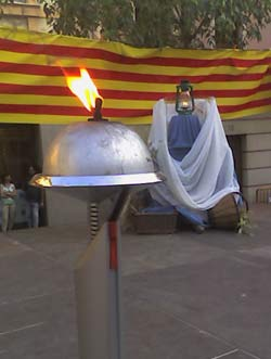Flama del Canigó a Sant Feliu